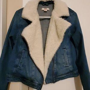Mossimo Denim Crop Jacket